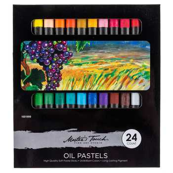 24-Count Oil Pastels